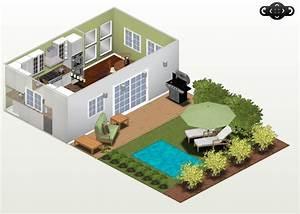 logiciel gratuit decoration amenagement interieur ciabizcom With plan 3d maison gratuit 9 changez votre deco dinterieur avec ces logiciels d