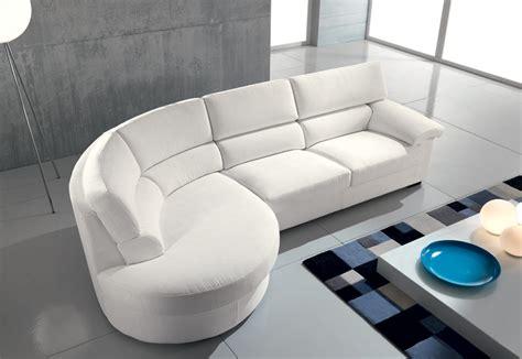 divani angolari tondi divano con angolo tondo idee per la casa