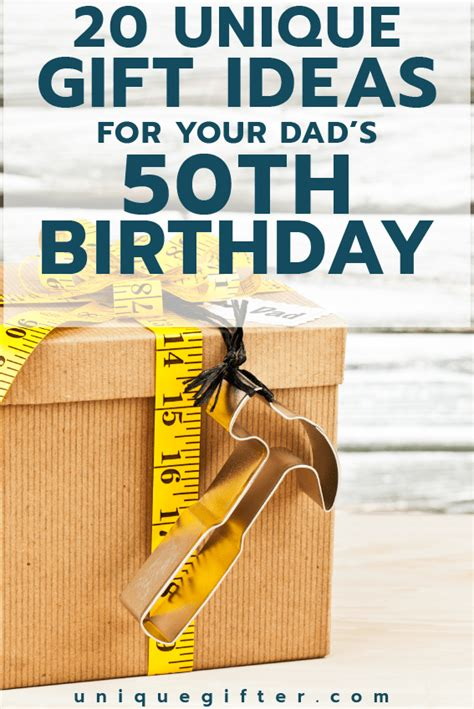 Maybe you would like to learn more about one of these? 20 50th Birthday Gift Ideas for Your Dad - Unique Gifter