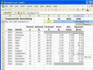 Bias Berechnen : forecast accuracy mad mse ts formulas youtube ~ Themetempest.com Abrechnung