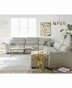 julius leather power reclining sectional sofa collection With macy s reclining sectional sofa