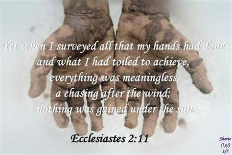 Meaning Of Vanity by Ecclesiastes Are You Ready For A Change