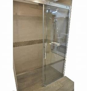 douche receveur et paroi chez nivault a caen With douche à l italienne porte coulissante