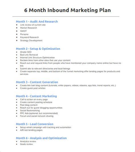 marketing plan outline templates   excel