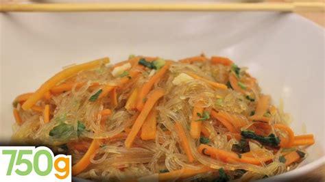 comment cuisiner le riz recette de carottes sautées aux vermicelles 750 grammes