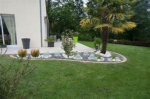 conception et creation dauguet perouzel With amenagement de massif exterieur 10 auvent terrasse
