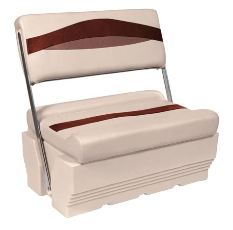 Flip Flop Boat Seat by Wise Premier Pontoon Flip Flop Seats Iboats