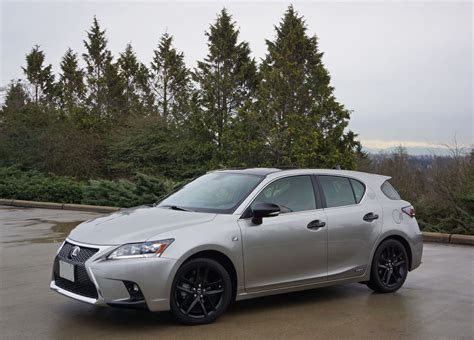 lexus ct   sport special edition road test