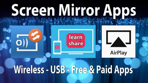 free mirror app for android how to screen mirroring android apps cast screen