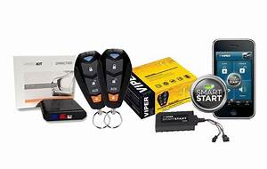 Viper Model 4105v Remote Start System With Keyless Entry Smart Start Vsm200 And Bypass Module Dball2