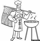 Bbq Coloring Patriotic July Memorial Fourth Drawing Grill Thecolor Flag Usa Apron Getdrawings Coupons Awesome Perfect Ii Break sketch template