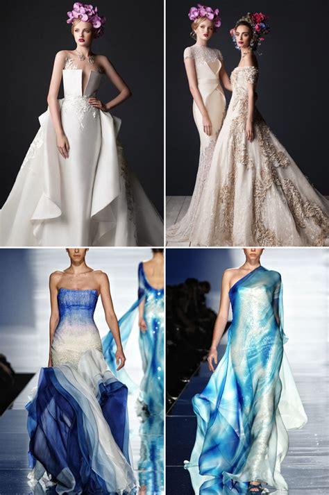 stunning cutting edge futuristic wedding gowns praise