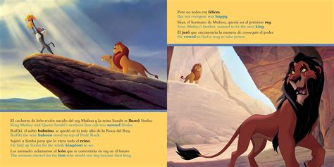 disneys  lion king  storybook libro basado en