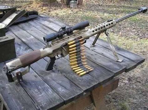 This Is Not A Belt Fed Weapon, Someone Is An Idiot For