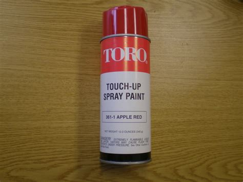 New Oem Toro Touch Up 361-1 Apple Red Spray Paint Pre 1990