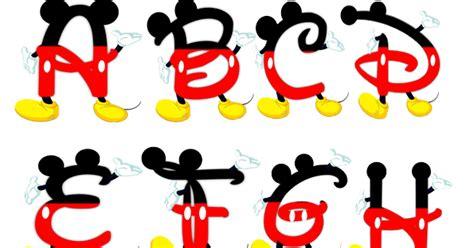 letras do abecedario do mickey alfabeto de mickey moldes letras disney alfabetos ideia