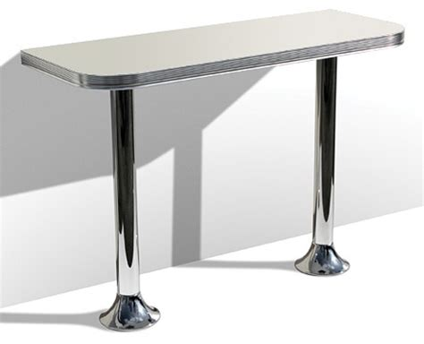 metal pedestal table 50s style bar tables wo24 pedestal bar table