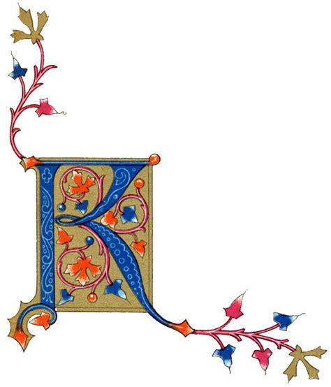illuminated manuscript letters karens whimsy decorative letters illuminated manuscript