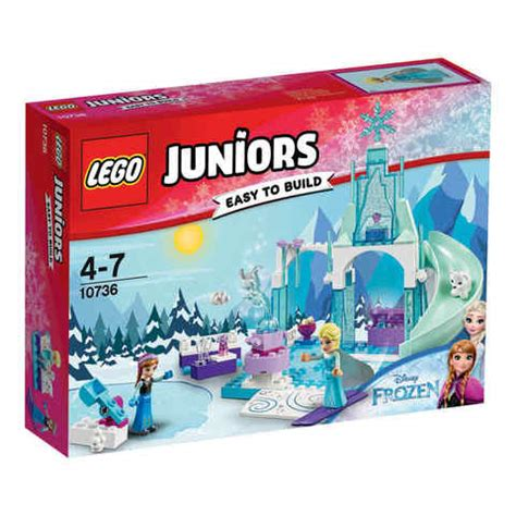 lego juniors and elsa s frozen playground 10736 kmart