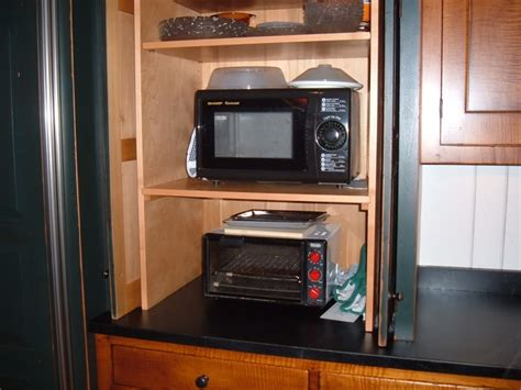 Best Images About Appliance Cabinet On Pinterest