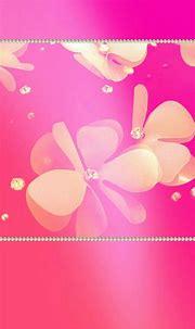 #pearls #bling #flowers #pink #madebyniki | Pink wallpaper ...