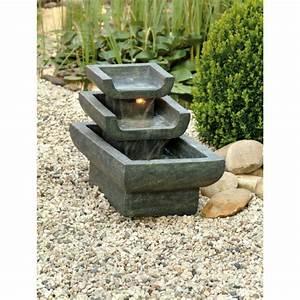 Fontaine A Eau Exterieur : fontaine de jardin tokyo achat vente fontaine de ~ Carolinahurricanesstore.com Idées de Décoration