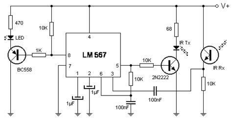detector de proximidad por infrarrojos
