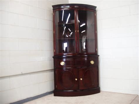 Curved Glass Curio Cabinet By Chintaly by Cabinet Curio Curved Glass Cabinet Glass