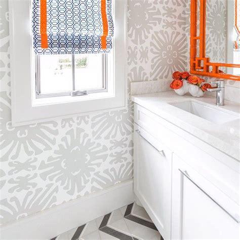 orange bathroom ideas