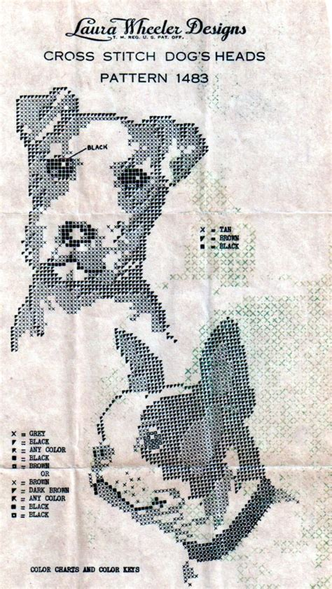 vintage cross stitch pattern ballyhoovintagecom