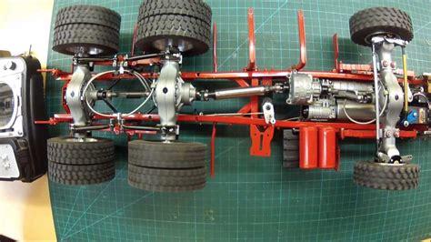 funktionstest der sperren getriebe und lenkung  man