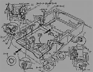 1193152 Wiring Group-chassis - Telehandler Caterpillar Th63