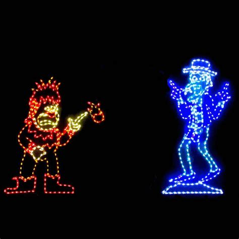 led animated christmas display miser brothers products