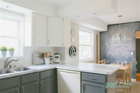 white kitchen white backsplash remodelaholic diy budget white kitchen