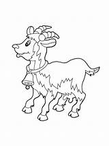 Coloring Pages Goat Emu Goats Printable Billy Gruff Drawing Colouring Getdrawings Getcolorings Animals Story sketch template