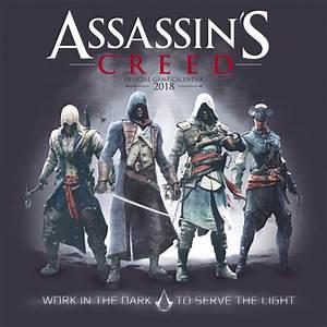 Assassins Creed Game - Kalendář 2019 na Posters.cz