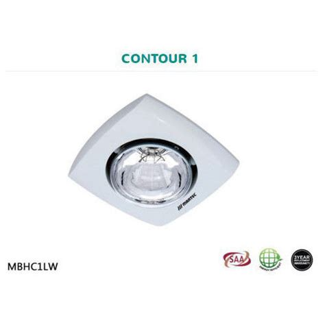 Martec Contour 1 Bathroom Heater Is A Stylish Simple Heat