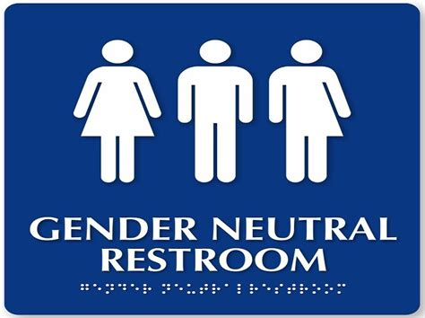 Gender Neutral Bathroom Signs by Gender Neutral Bathrooms Perspective From Personal