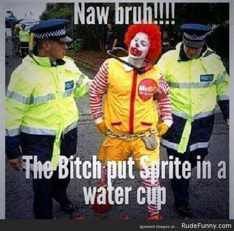 Funny Ronald Mcdonald Memes - don t mess with ronald mcdonald http www rudefunny com memes dont mess ronald mcdonald
