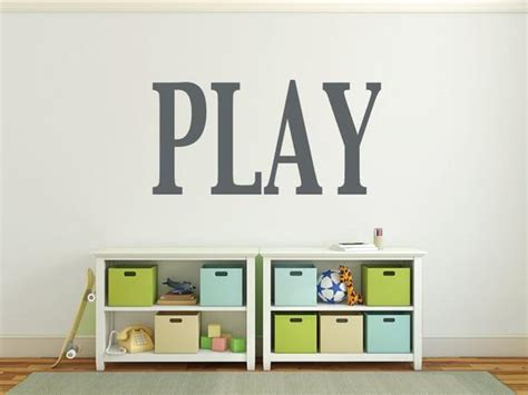 wall letters playroom wall decals large wall letters