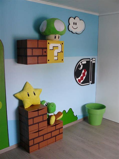 chambre mario bros decoration mario bros images frompo