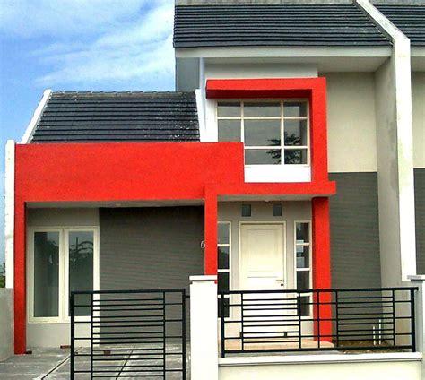 desain rumah minimalis satu setengah lantai
