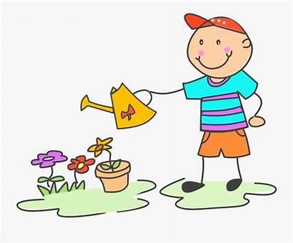 Chores Clip Child Doing Help Parents Clipart