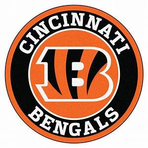 FANMATS NFL Cincinnati Bengals Black 2 ft 3 in x 2 ft 3