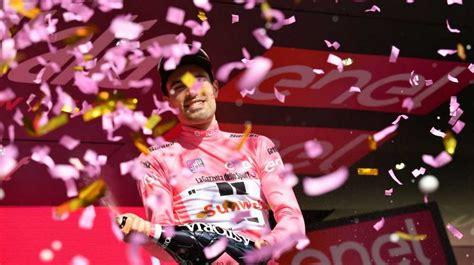 Descubre las noticias del contrarreloj, tiempo y posición de los participantes de la carrera rosa. Clasificación general del Giro de Italia tras la décima etapa - iberobike