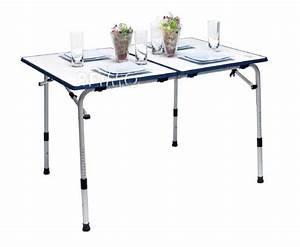 Table Pliante De Camping : table de camping pliante grenada 120 x 80 cm ~ Melissatoandfro.com Idées de Décoration