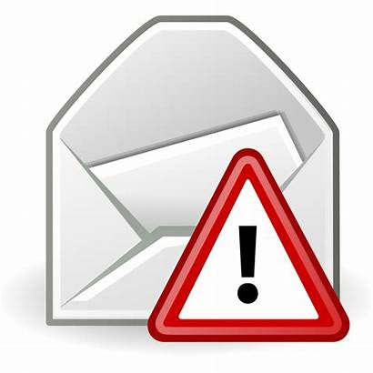 Alert Email Message Mail Open Svg Clipart