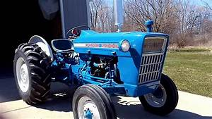 67 Ford 2000 Tractor