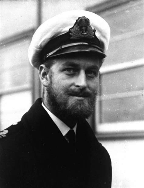 Prince Philip Beard Hrh Prince Philip Of Greece Denmark In June 1945