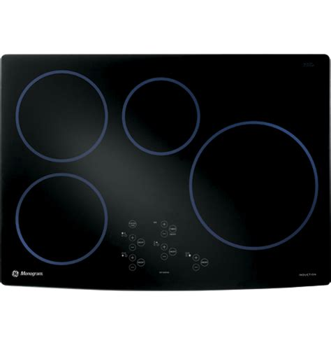 ge induction cooktop 30 zhu30rbmbb ge monogram 30 quot induction cooktop black